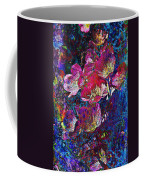 Pink Floral Abstract Coffee Mug