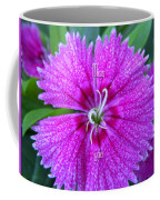 Pink Flower Miss You Coffee Mug