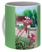 Pink Geranium Sketchbook Project Down My Street Coffee Mug