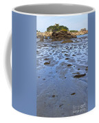 Pink Granite Island In Low Tide Coffee Mug