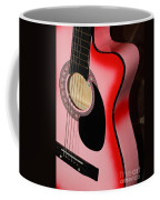 Pink Guitar Coffee Mug