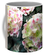 Pink Hydrangeas Coffee Mug