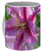 Pink Lily After The Rain Coffee Mug