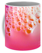 Pink Milk Bubbles Coffee Mug