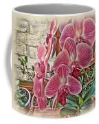 Pink Orchids Coffee Mug