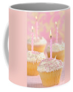 Pink Party Cupcakes Coffee Mug by Amanda Elwell