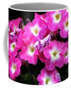 Pink Petunias Coffee Mug
