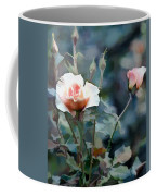 Pink Rose Bush Coffee Mug