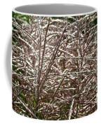 Pink Silver Coffee Mug