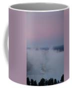 Pink Sky Over Niagara Falls Coffee Mug