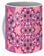 Pink Splash Mandala Abstract Coffee Mug