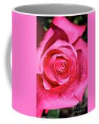 Pink Sunrise Rose Coffee Mug