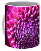 Pink To Purple Dahlia Coffee Mug
