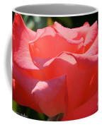 Pink Touch Of Class Petals Coffee Mug