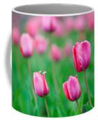 Pink Tulip Bed Coffee Mug
