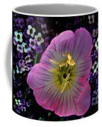 Pink Wildflower  Coffee Mug