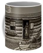 Pioneer Greeting Monochrome Coffee Mug
