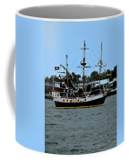 Pirate Ship Of The Matanzas Coffee Mug