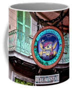 Pirates Alley Cafe Coffee Mug by Bill Cannon
