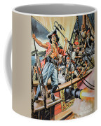 Pirates Preparing To Board A Victim Vessel  Coffee Mug by American School