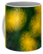 Pirouetting Dandelions Coffee Mug by Neil Shapiro