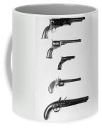 Pistols And Revolvers Coffee Mug