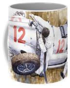 Pit Stop German Gp 1939 Mercedes Benz W154 Rudolf Caracciola Coffee Mug