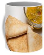 Pita Bread With Brocoli Cheese Dip Coffee Mug
