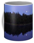 Pitkajarvi Nightscape Coffee Mug
