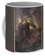 Pittsburgh: Furnaces, 1885 Coffee Mug