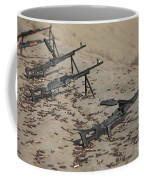 Pk Machine Guns And Spent Cartridges Coffee Mug