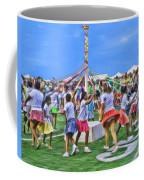 Plaiting The Maypole Coffee Mug