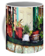 Plants On Porch Coffee Mug