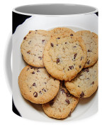 Plate Of Chocolate Chip Cookies Coffee Mug