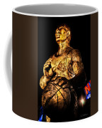 Player In Bronze Coffee Mug by Christopher Holmes