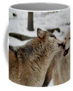 Playful Wolves Coffee Mug