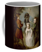 Playing Soldier Coffee Mug