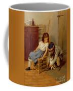 Playing With Kitty  Coffee Mug