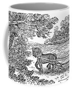 Ploughing, 19th Century Coffee Mug by Granger