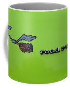 Plymoouth Road Runner In Lime Green Coffee Mug