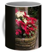 Poinsettia Garden Coffee Mug