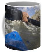Point Of View White Water Kayaking Coffee Mug