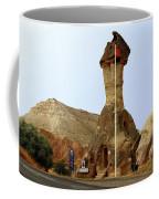 Police Station In Tufa Rock Coffee Mug