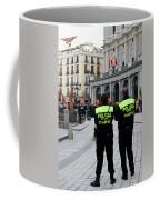 Policia Madrid Coffee Mug