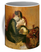 Polishing Pans  Coffee Mug