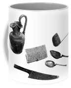 Pompeii: Kitchen Utensils Coffee Mug