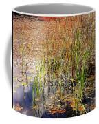 Pond And Rushes Coffee Mug
