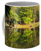 Pond Reflection Guatemala Coffee Mug