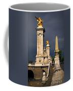 Pont Alexander IIi In Paris Before Storm Coffee Mug
