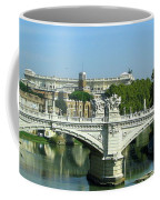 Ponte Sant'angelo In Rome Coffee Mug